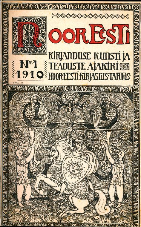 Ajakiri Noor-Eesti, nr 1