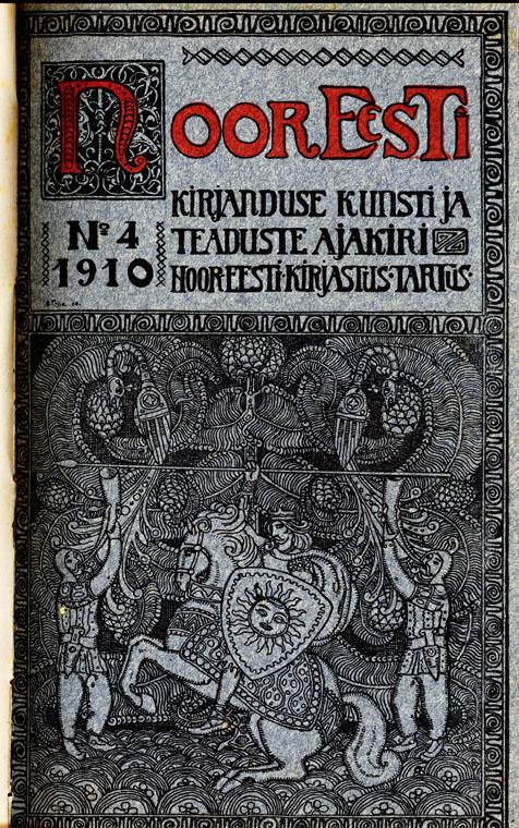 Ajakiri Noor-Eesti, nr 4